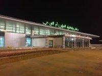 هبوط أول طائرة موريتانية بمطار ام التونسي...